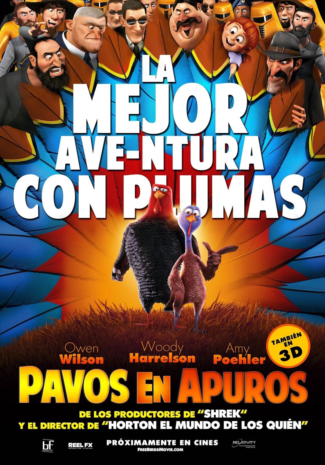 Ver Película Dos pavos en apuros online latino Español HD
