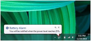 Tips mencegah Laptop Mati Sebab Kehabisan Daya karena Kelupaan Ngecas