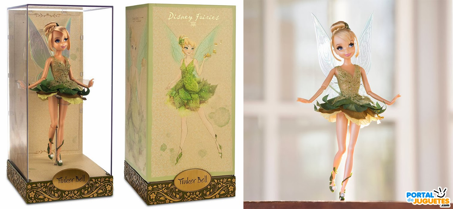 muñeca campanilla Disney Fairies Designer Collection