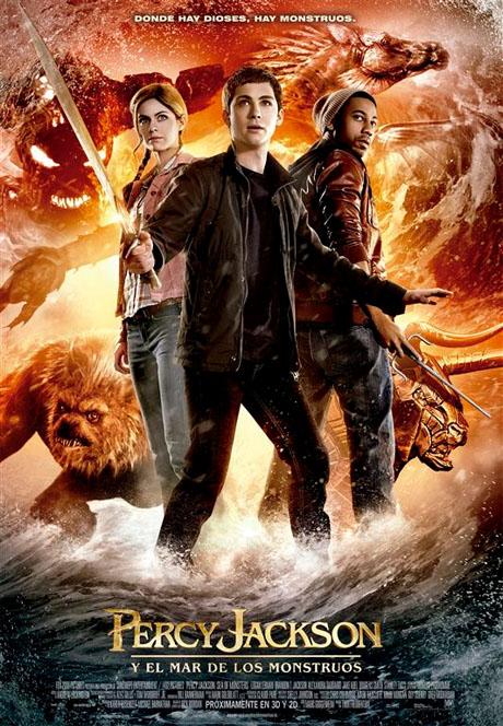 Percy Jackson y el mar de los Monstruos: Poster