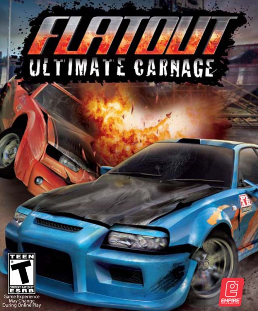 Flatout: Ultimate Carnage PC Cover