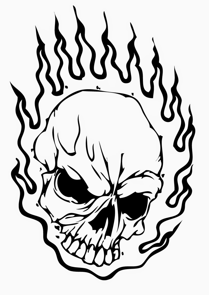Free Coloring Pages Of Lots Of Skulls Skulls Coloring Pages