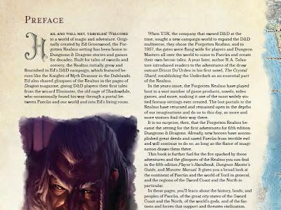 Primer avance de la Guía del Aventurero de la Costa de la Espada (D&D 5)