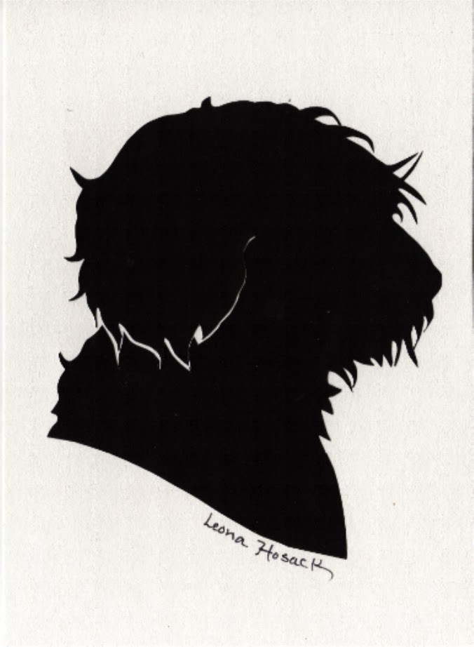 Silhouettes by Leona, Dogs