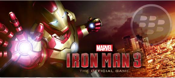 Juego Iron Man 3 para BlackBerry 10 totalmente gratis