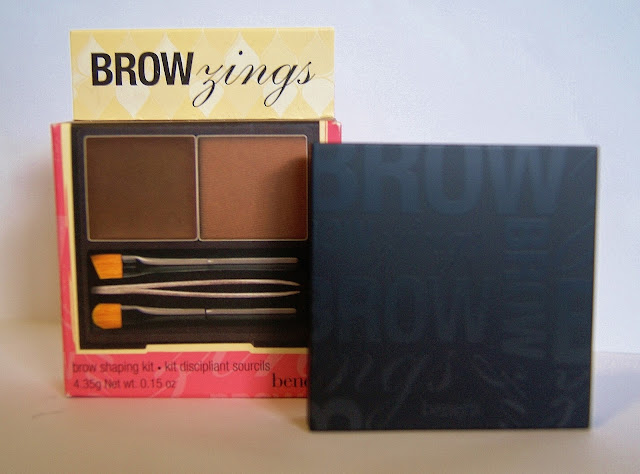 Benefit Brow Zings Brow Shaping Kit, Beauty, Review, Eyebrows, Toronto, Ontario, Canada, Makeup, The Purple Scarf, MelaniePs, Brush, Tweezers