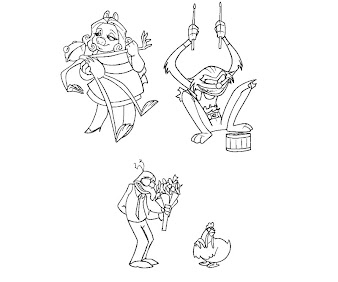#7 The Muppets Coloring Page