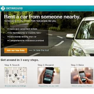 GetAround car rentals