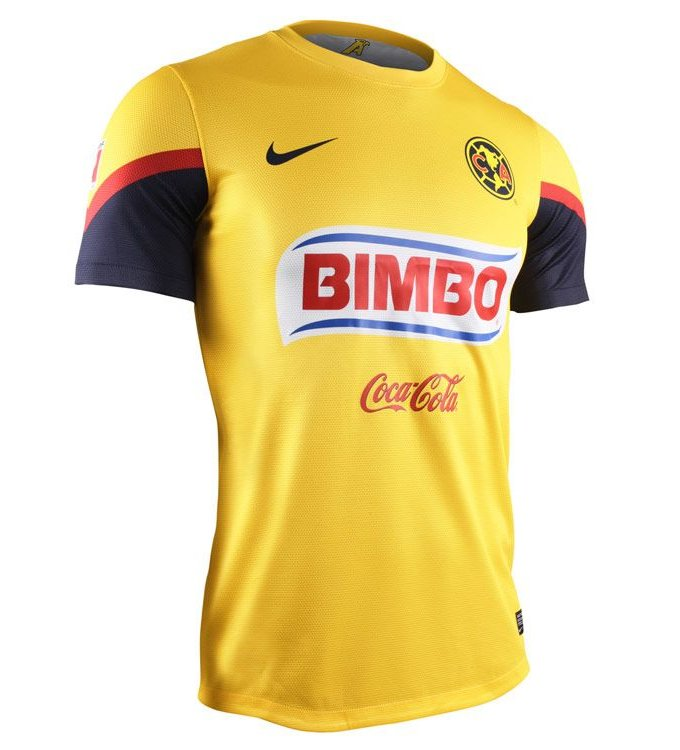 Nueva playera uniforme camiseta del America 2012 2013