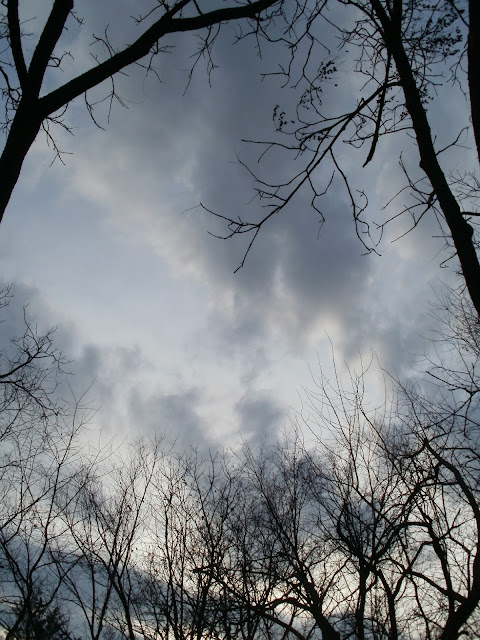 Sky Between Snowfalls