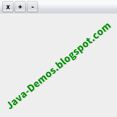 Undecorated JFrame with custom JMenuBar
