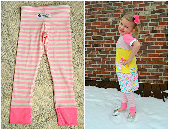 Sugarplum Cuties: Limited Edition Spring 2013 B Fly Leggings