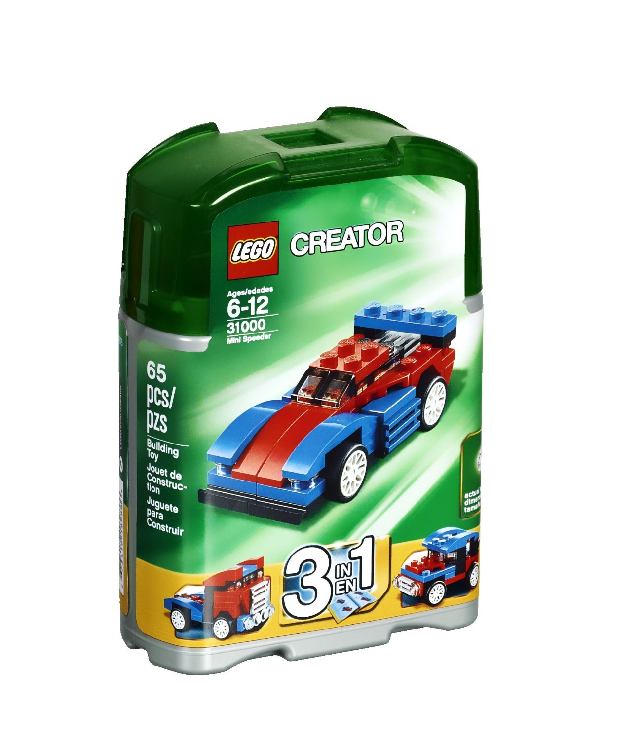lego creator mini speeder 31000 my lego style. Black Bedroom Furniture Sets. Home Design Ideas