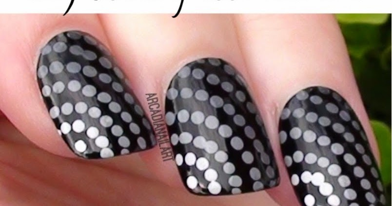 Dotting tools nail art image collections nail art and nail arcadianailart 3 easy dotting tool nail art designs for beginners prinsesfo image collections prinsesfo Gallery