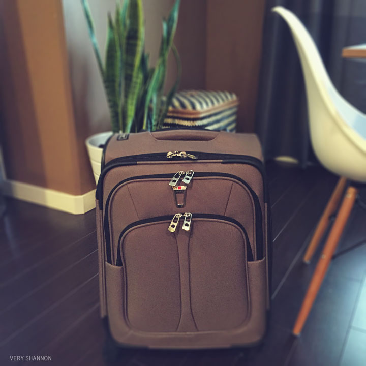 luggage for Stitches West 2015