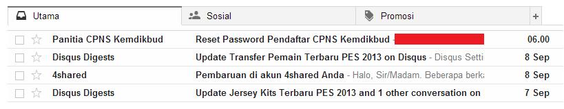 Solusi Lupa Password dan Belum Mendapatkan Password di Pendaftaran CPNS Portal Panselnas 5