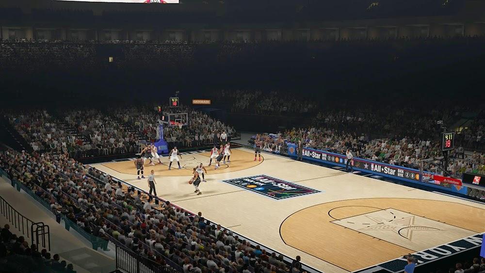 NBA 2K15 2015 All-Star Court