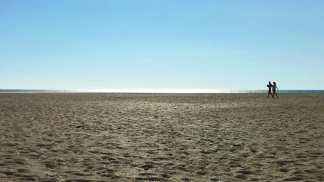 Het Castilnovo strand ten zuiden van Conil de la Frontera is nog volledig ongerept
