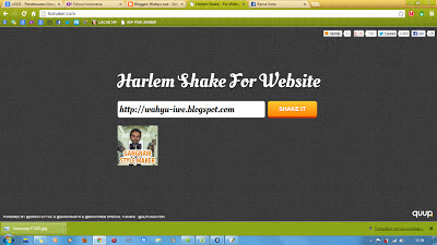 blog Bergoyang ala harlem shake