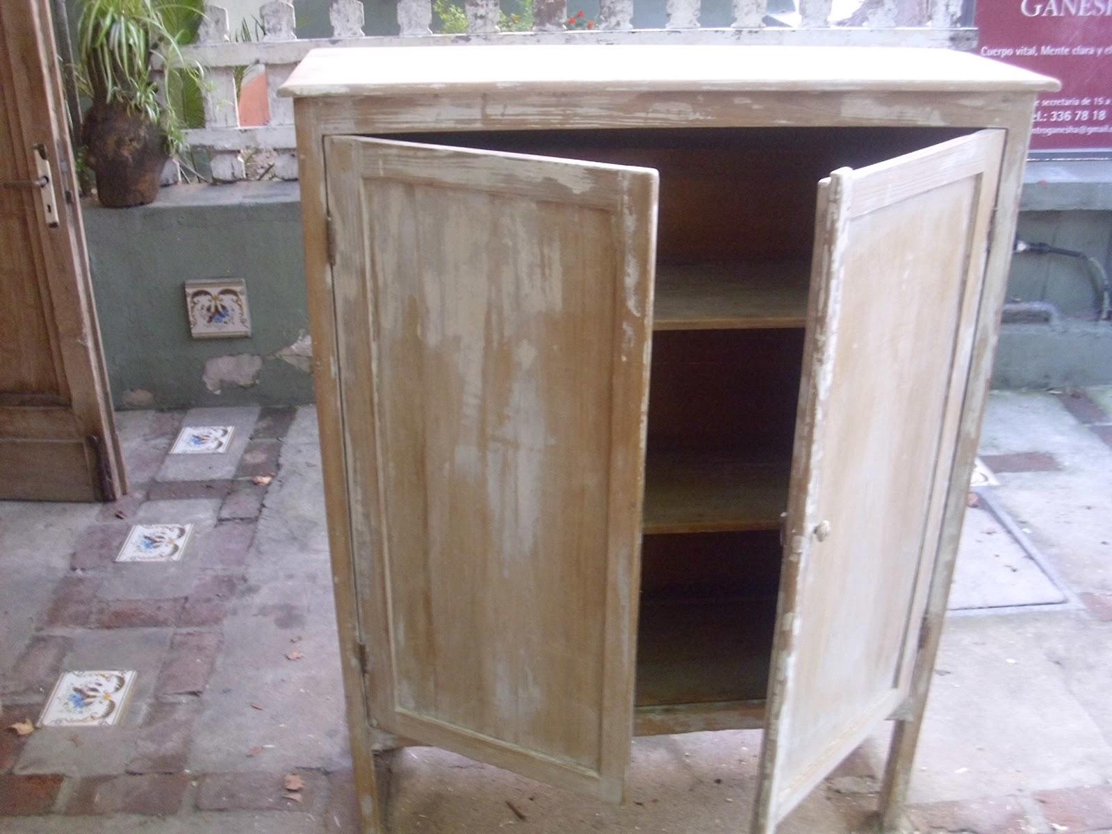 Muebles cosas del pasado antiguo aparador de cocina en for Aparador cocina
