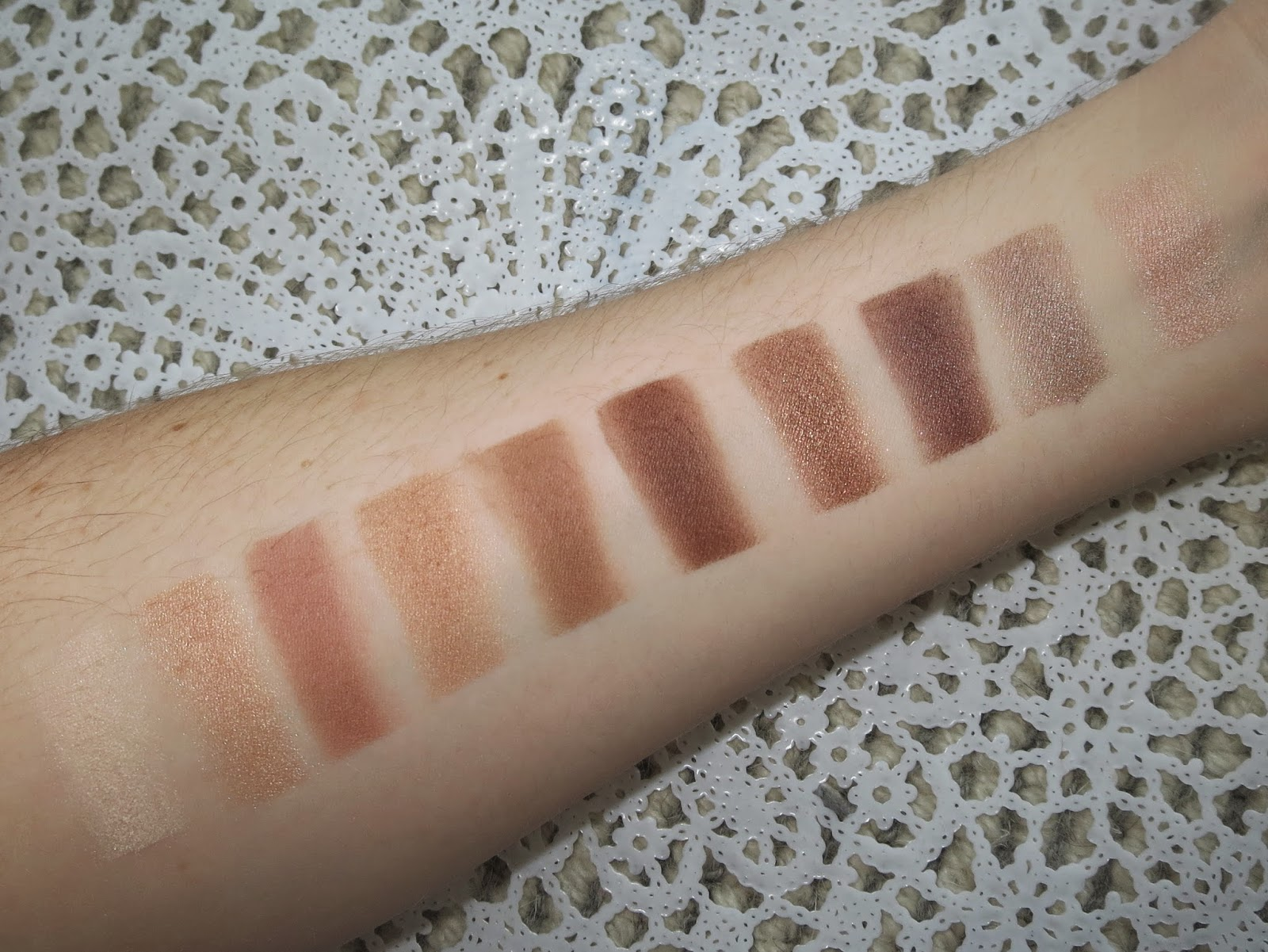 a picture of L'Oreal La Palette Nude 1 (swatch)