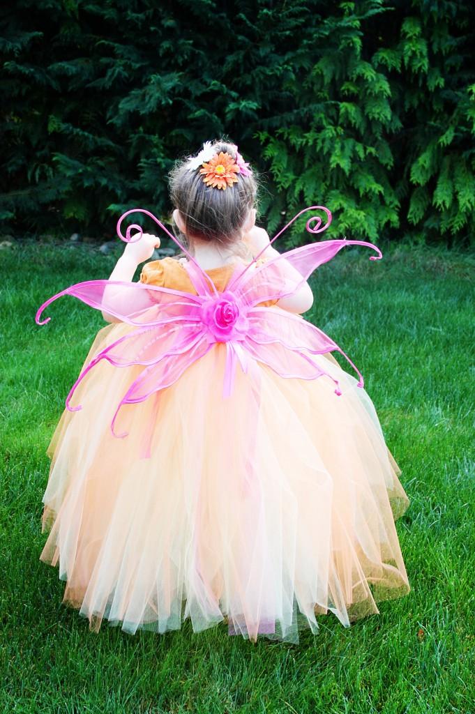 Easy fairy costume tutu dress tutorial beingbrook