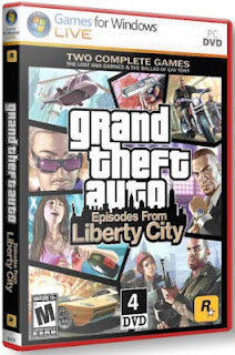 GTA Episodes from Liberty City Cover