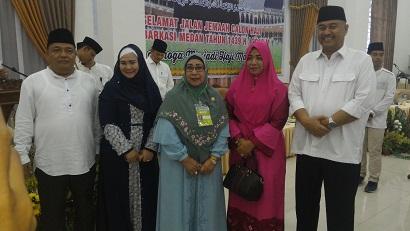 Bupati Langkat H Ngogesa Sitepu 10 Kali Antar Jemput Jama'ah Haji