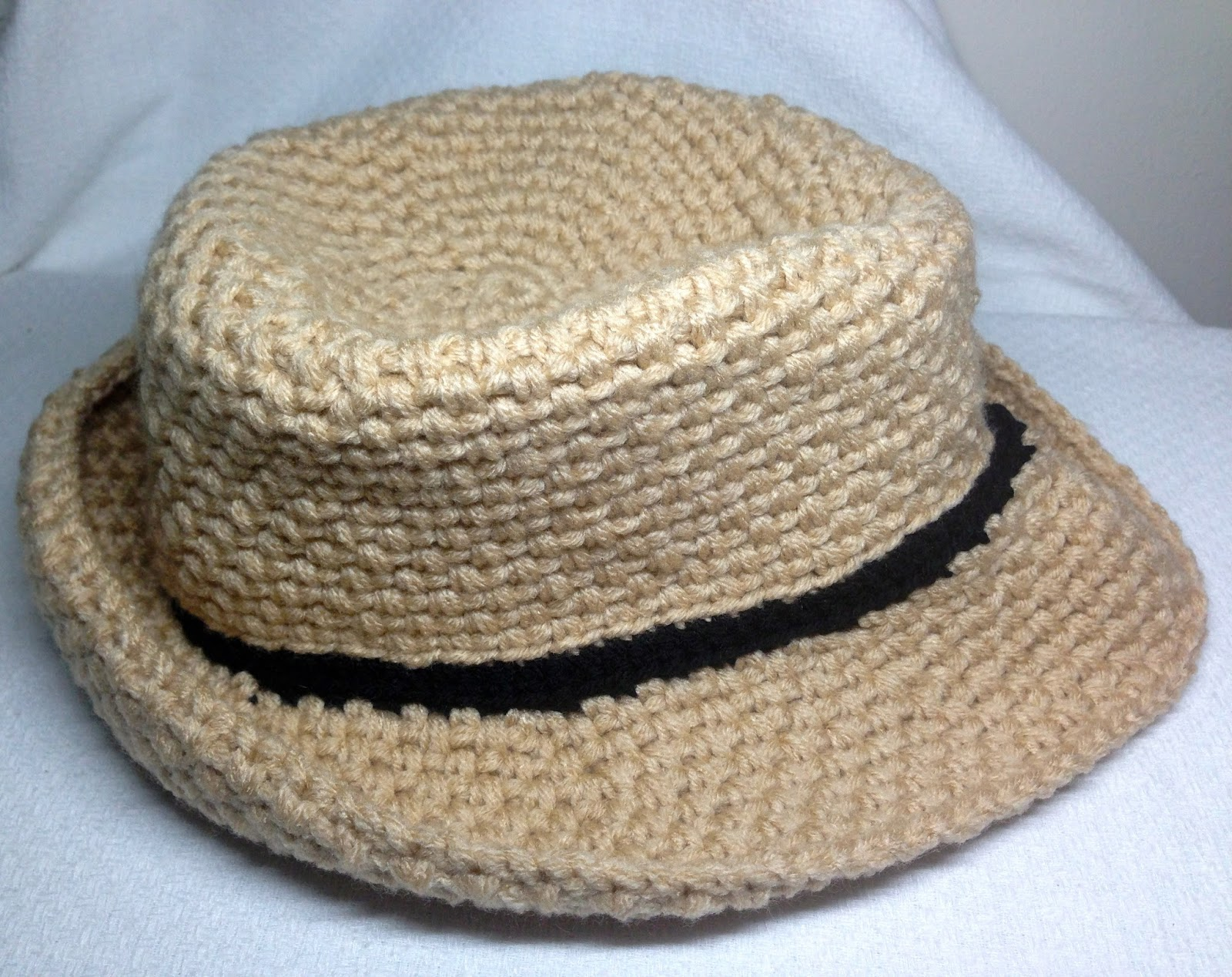 Crochet a Fedora Hat - iKNITS f0aba44934f