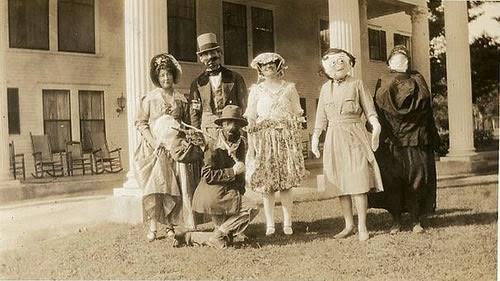 30 Fotos de disfraces de Halloween antiguos