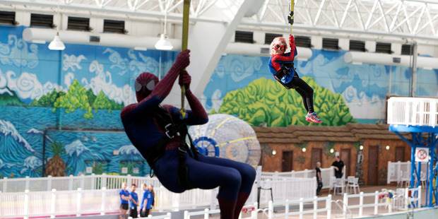 Spider-Man dream by 6 -year-old with cancer- Mable Tooke, aka SpiderMable