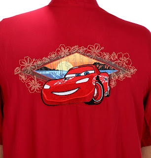 lightning mcqueen hawaiian shirt
