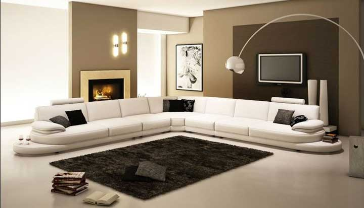 Decorilumina ideas de un living moderno con modelos alemanes for Living comedor modernos 2016