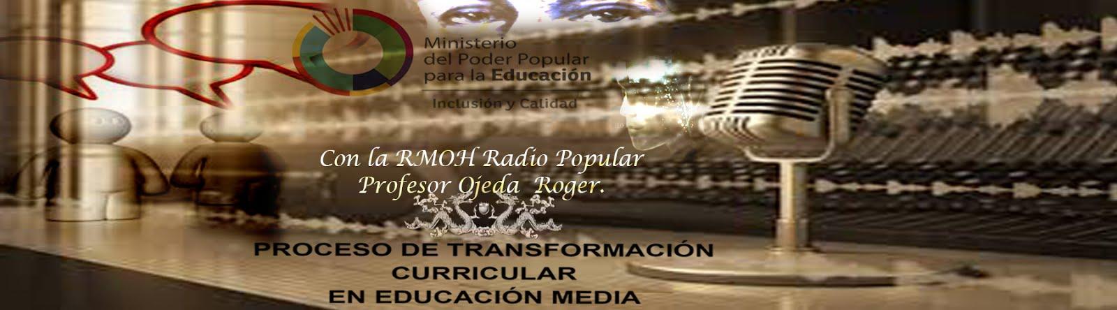Entrevista por la radio 2016.