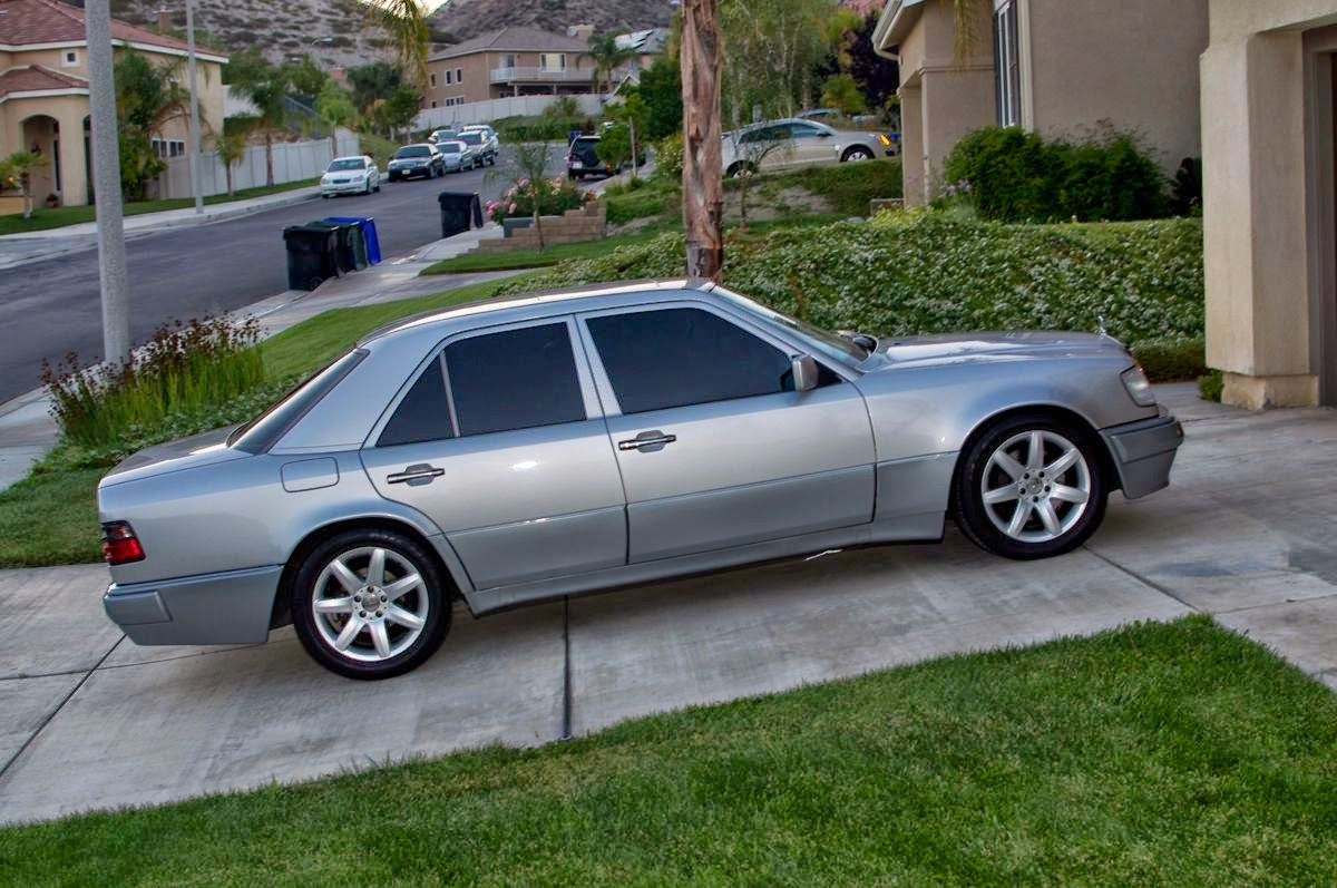 Mercedes benz 500e w124 silver benztuning for Mercedes benz 500 e
