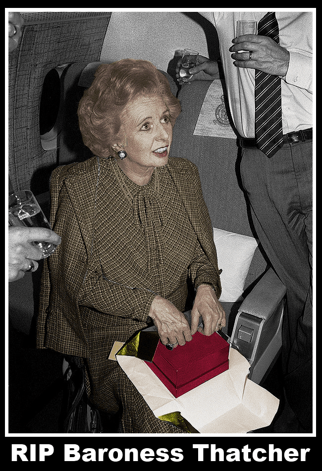 RIP Baroness Margaret Thatcher 1925 - 2013