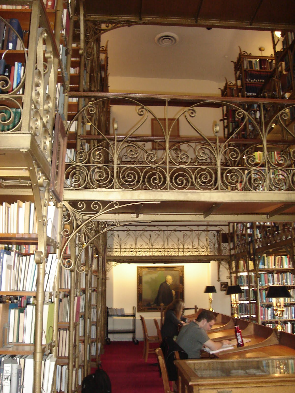 Uris Library Harry Potter Room