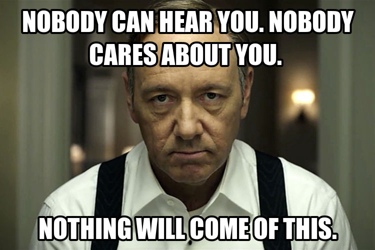 Ebl House Of Cards Valentine S Day And Other Annoying