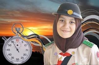 Menentukan waktu tanpa jam