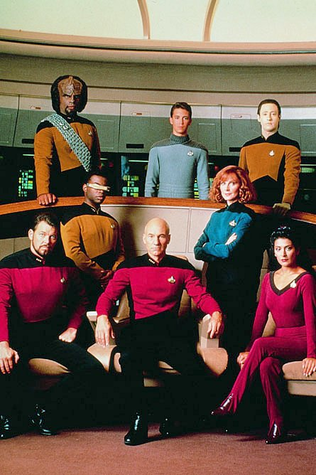 A GALAXY OF EXCITEMENT. 'STAR TREK: THE NEXT GENERATION' SEASON THREE - NOW  IN HD TV AIRINGS IN THE UK