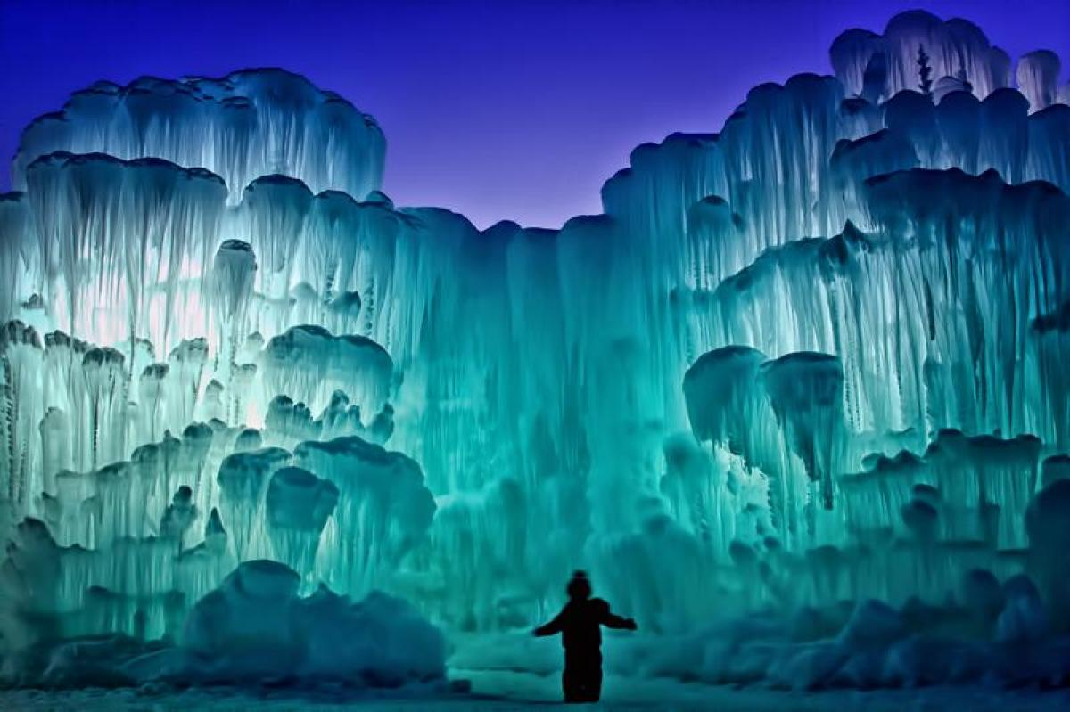 Ice Castle at Silverthorne, Colorado 6