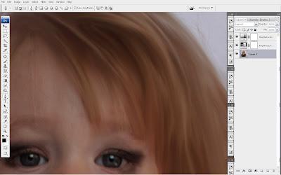tutorial+smudge+hair+(4) Trik Smudge Painting Bagian Rambut dengan Photoshop