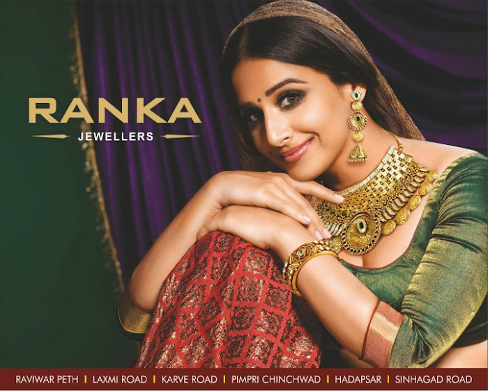 vidya balan spicy shoot for ranka jewellers print ads hot images