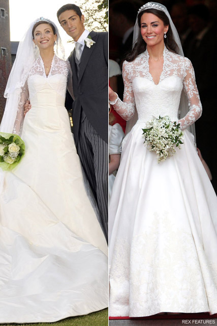 All about kate have we seen kate middleton 39 s wedding for Wedding dress kate middleton style