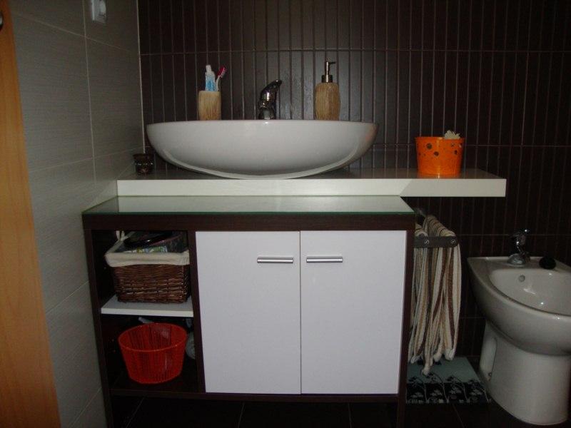 Aramissenil mueble del ba o - Muebles de bano para lavabos con pie ...
