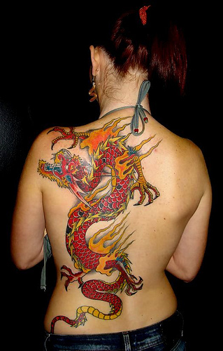 Best Dragon Tattoos for Girls