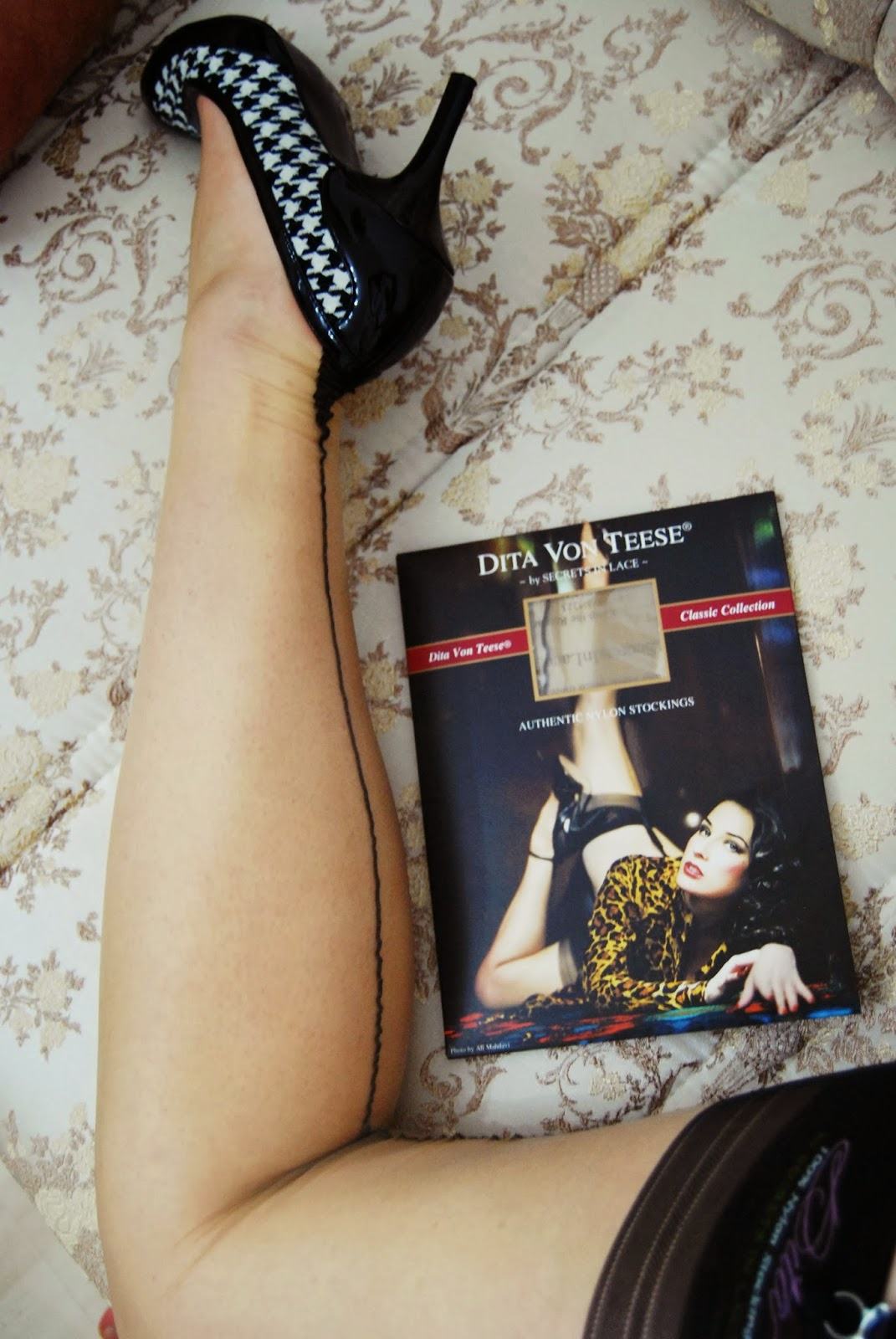 Vintage rht nylon stockings about