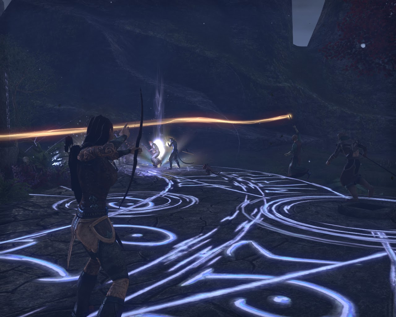 Elder Scrolls Online Screen Shot Dark Anchor