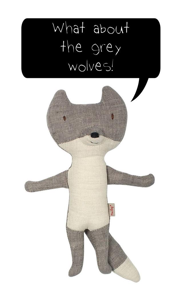 Maileg wolf