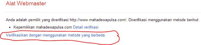 laman ke 3 google webmaster tool